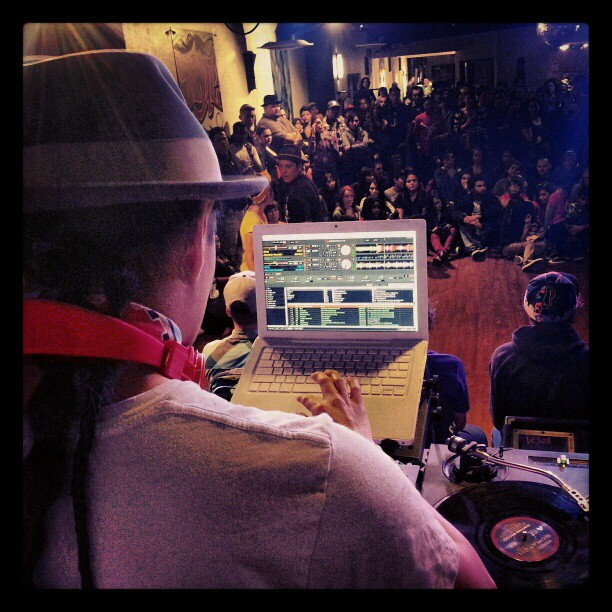 DJ'ing @ Breakin Hearts... Albuquerque NM...!!