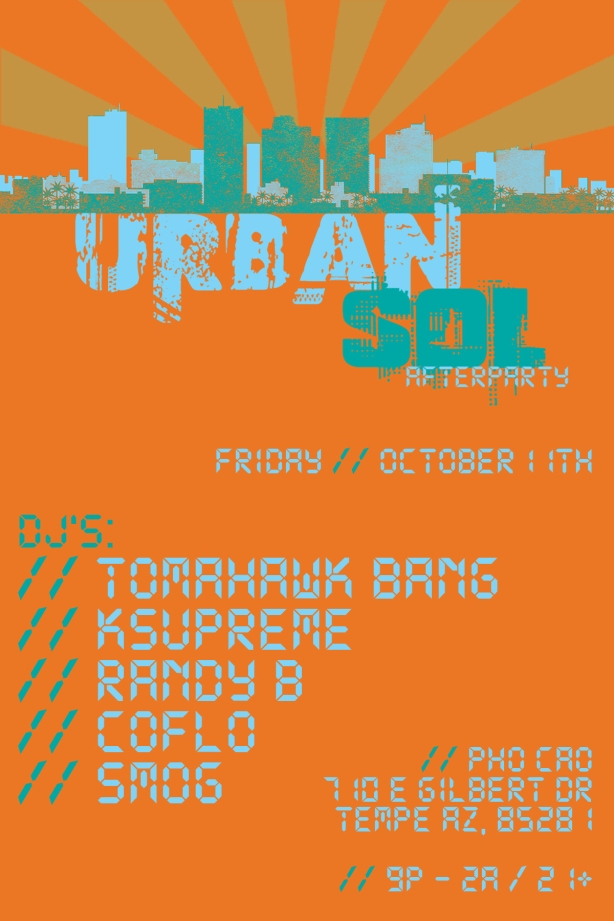 urban SOL afterparty // pho cao